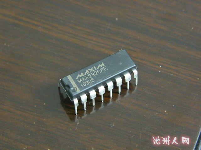 买max232epe rs232转ttl芯片