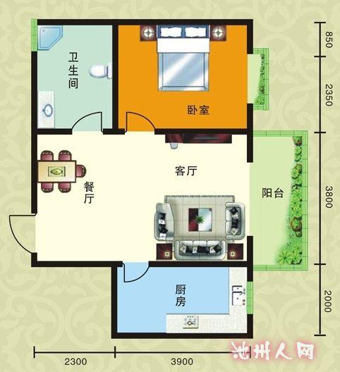 五十多平方的房子装修大概花多少钱