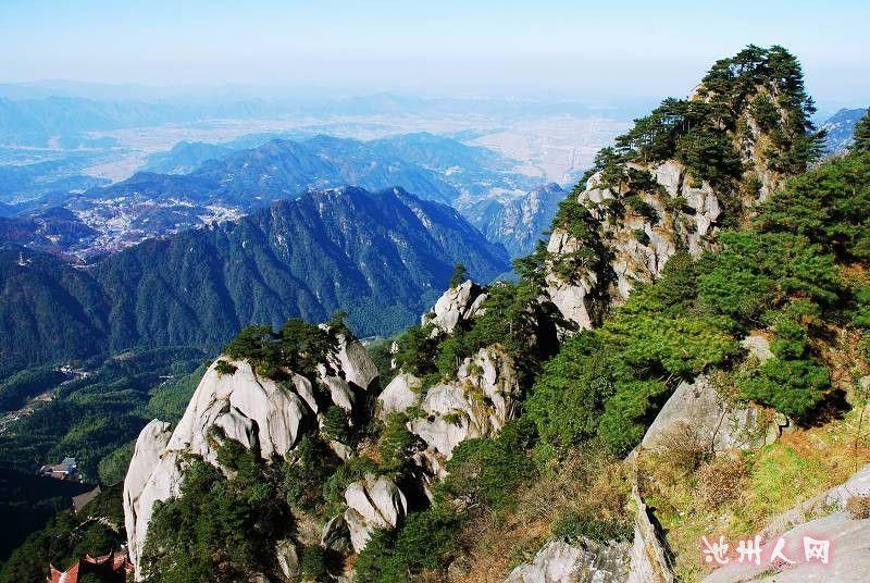 九华山风景区15秒形象宣传片已经亮相北京