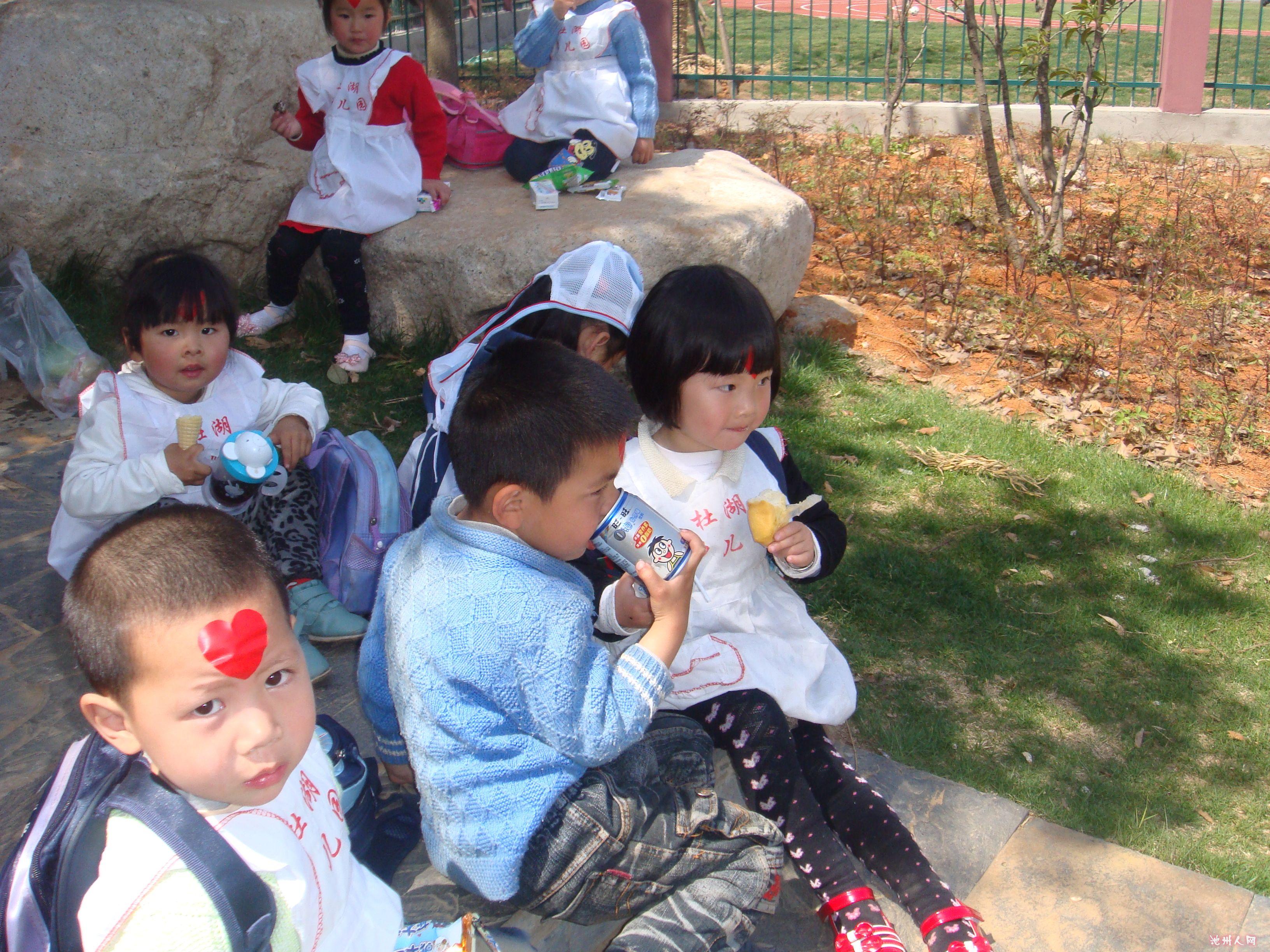 秀2011年杜湖幼儿园小班宝宝春游照片