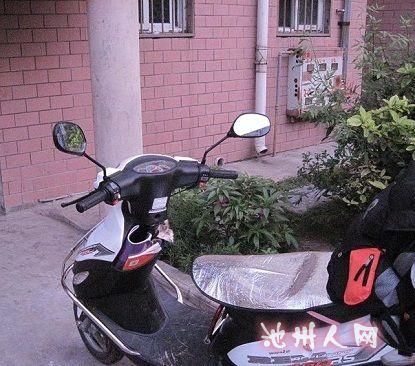 转让济南轻骑踏板摩托车