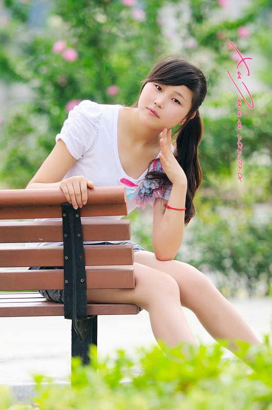 【原色影像】 高三美眉 Qu Juan 美的印象