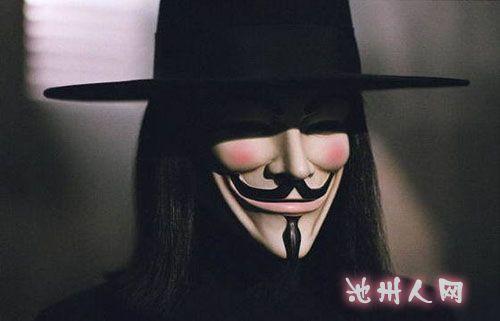 那个着黑袍戴面具的v先生呢