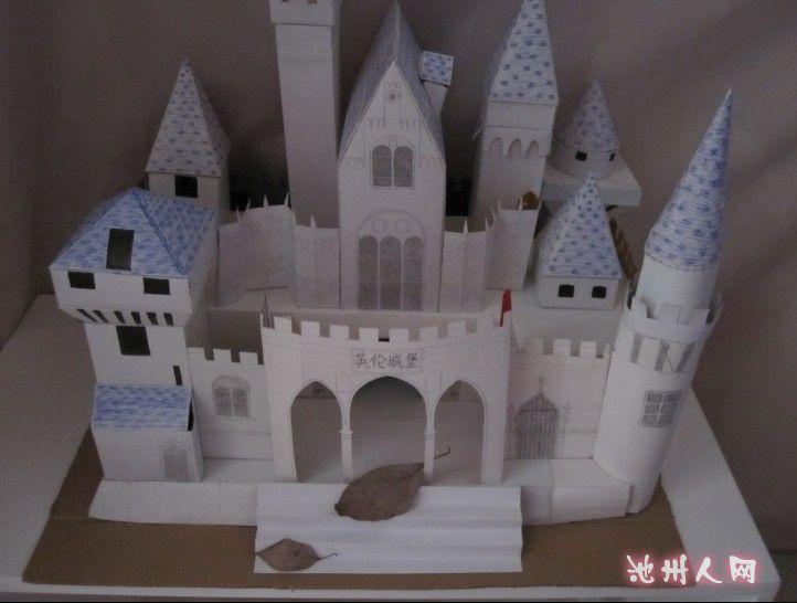 手工欧式城堡图片