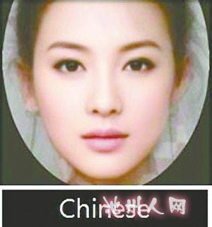 中国古代女子面部手绘