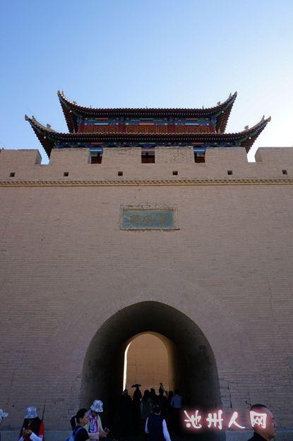 嘉峪关城门