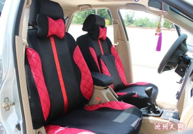 加厚款专车专用汽车座套订制高清图片