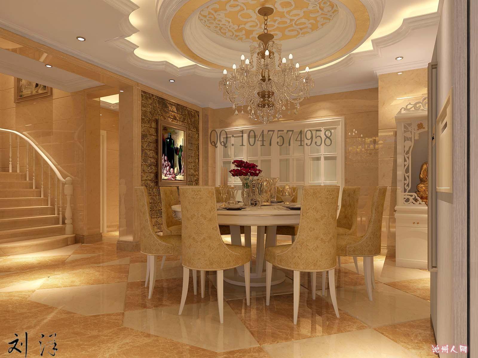 260平米欧式别墅装修施工中 欢迎讨论