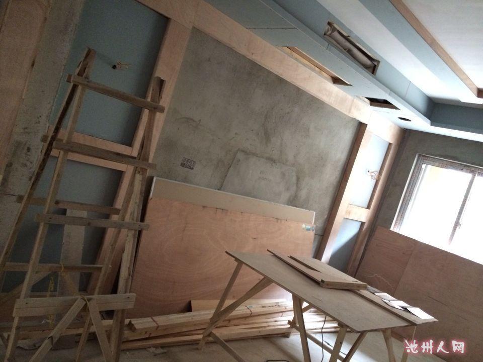 260平米欧式别墅装修施工中
