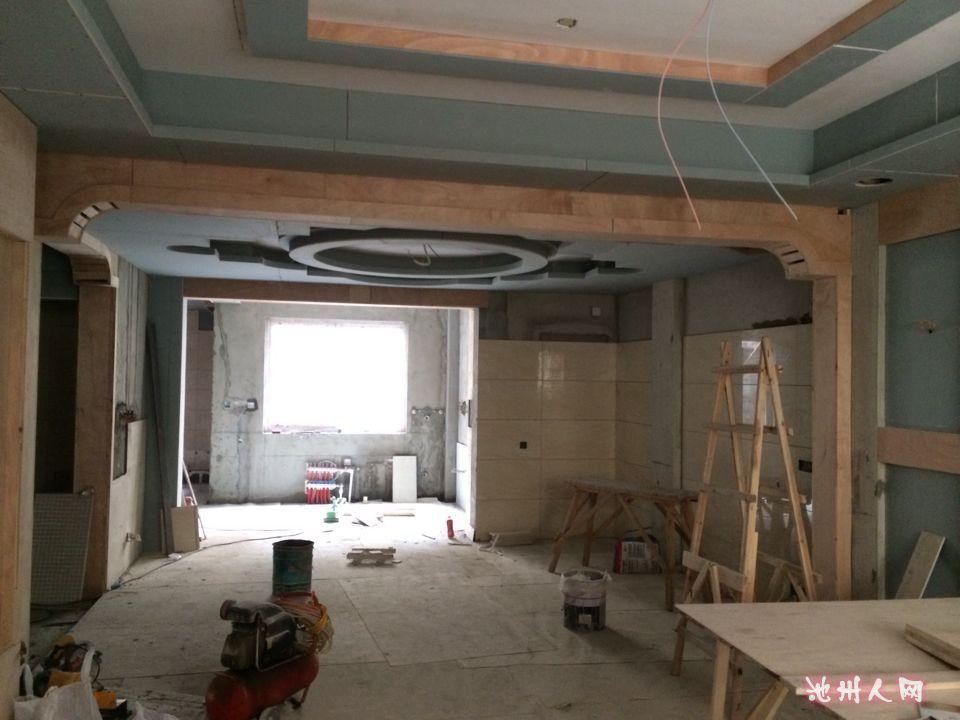 260平米欧式别墅装修施工中欢迎讨论别墅远房型v别墅华园图图片