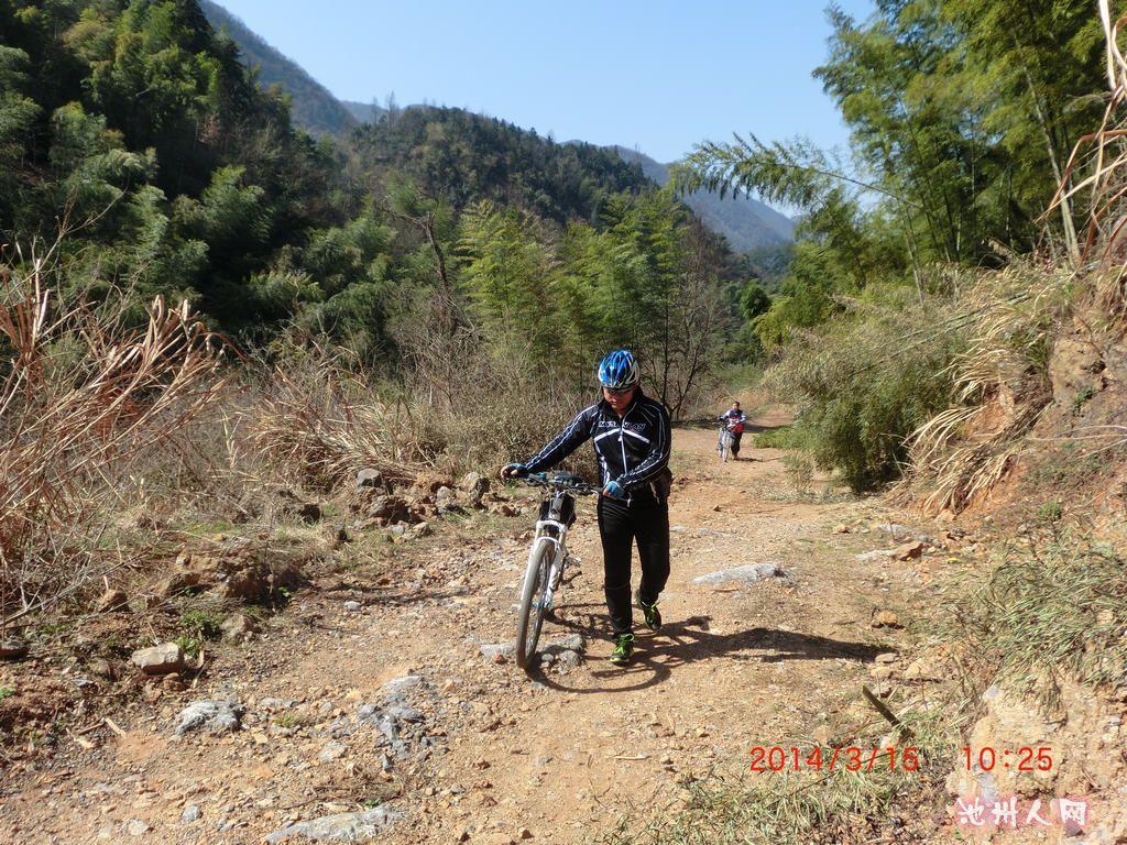 [池州经纬单车]3月15日解放-刘街骑行探路作业