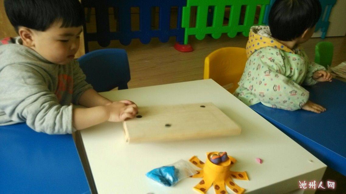 手工~这一期我们幼儿小班美术兴趣班的内容是