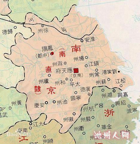 山东江苏南京地图