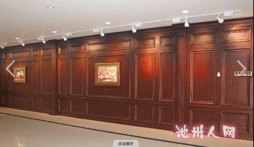 69 欧式别墅 设计效果    庄重大气,特别是沙发背景运用了木质墙板