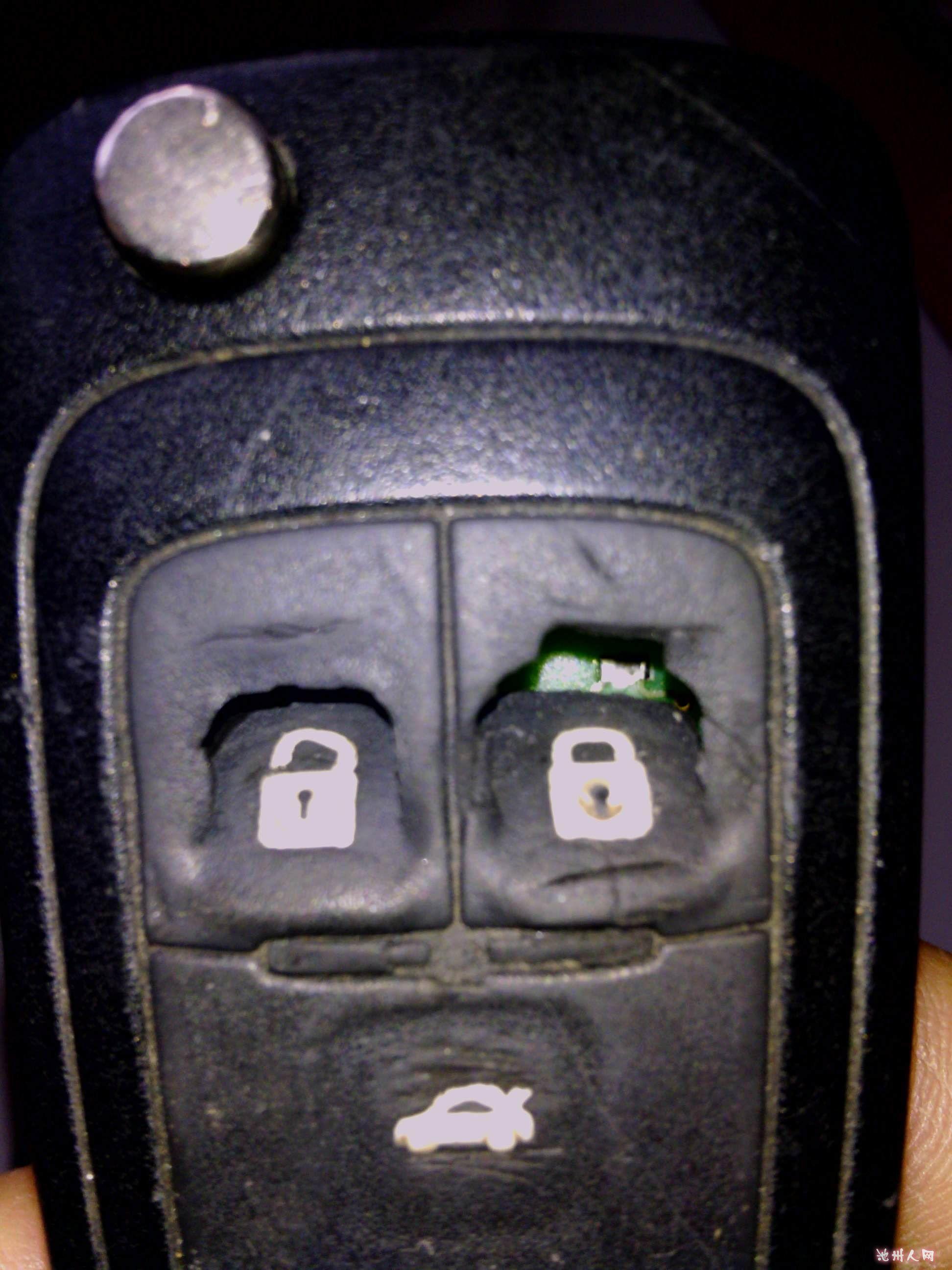 科鲁兹钥匙按键坏了怎么办