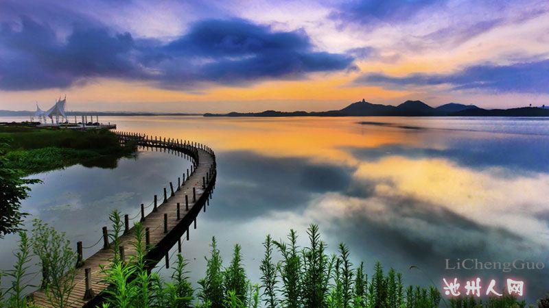 人网网友江南春的池州风光优秀摄影作品在新浪安徽展出
