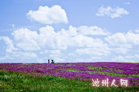 区——花湖(一片未被污染的处女地),感受明镜般的湖水影照下的蓝天
