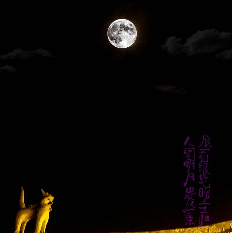 天狗望月奇石的样子_天狗望月的样子
