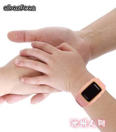新款阿巴丁儿童智能手表在外观