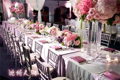 西式婚礼餐桌的布置要素