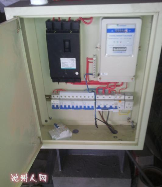套房配电箱380v接线图