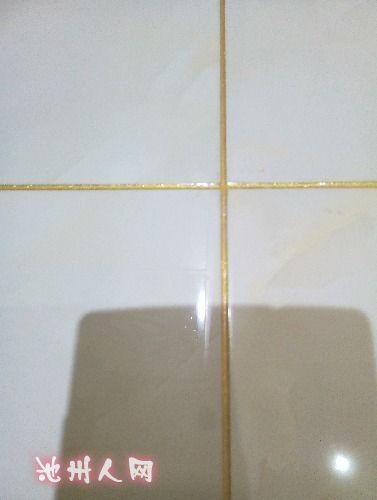 顿4号楼301瓷砖美缝效果图 装修讨论 ChizhouRen.com高清图片