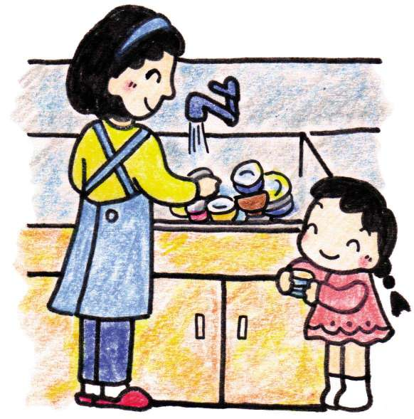 爱婴爸爸-父母时间:宝宝做家务年龄对照表