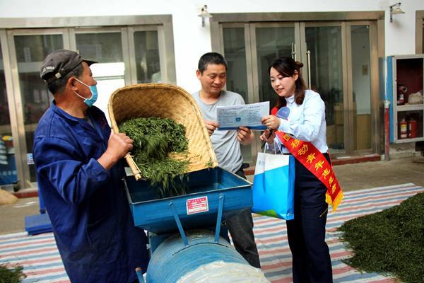 安徽移动石台县分公司主动服务茶季农村市场
