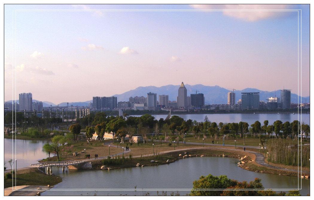 5平方公里的菱湖风景区