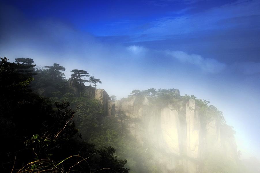 九华山风景区映像