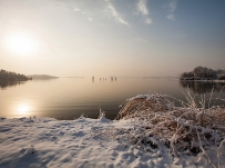 平天湖,雪后【9P】
